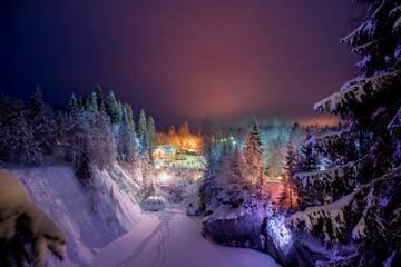 Отдых в России в январе