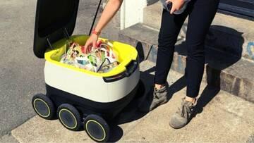В Москве робот-курьер начал доставлять еду в дома