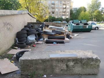 Выборгский район признан самым грязным в Петербурге