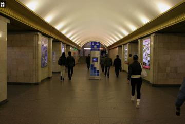 Станция «Сенная площадь» меняет режим работы