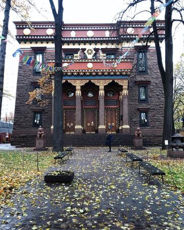 Интересные места Петербурга Буддийский храм «Дацан Гунзэчойнэй»