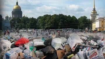Беглов может стать виновником мусорного коллапса в Петербурге
