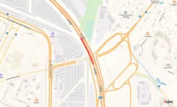 Ремонтные работы на путепроводе КАД в районе Мурино продлили до 13.12