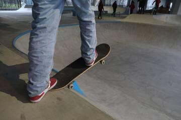В Приморском районе готовится к открытию новый скейт-парк